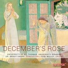 University Singers of University of St. Thomas - December's Rose, CD