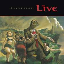 Live: Throwing Copper, CD
