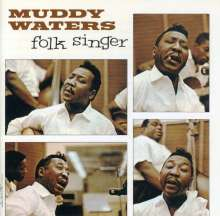 Muddy Waters: Folk Singer, CD