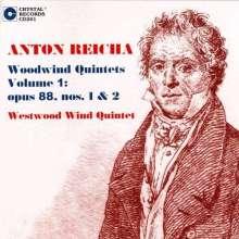 Anton Reicha (1770-1836): Bläserquintette op.88 Nr.1 & 2, CD