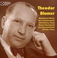 Moran Woodwind: Theodor Blumer: Woodwind Music, CD
