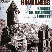 "Alan Hovhaness (1911-2000): Konzert für Klavier, 4 Trompeten & Percussion ""Khaldis"" op.91, CD"