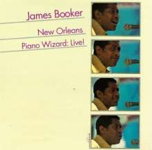James Booker: New Orleans Piano Wizard: Live! 1977, CD