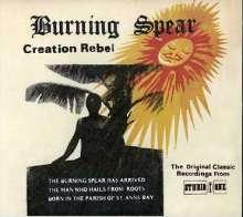 Burning Spear: Creation Rebel, CD