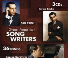 Great American Song Writers, CD