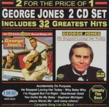 George Jones (1931-2013): 32 Greatest Hits, 2 CDs