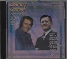 Country Gospel At It's Best Vol. 2, CD