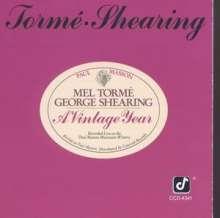 Mel Torme (1925-1999): A Vintage Year - Live, CD