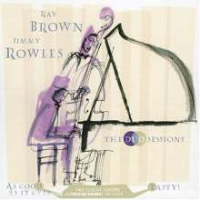 Ray Brown (1926-2002): Duo Sessions With Jimmy Rowles (As Good As It Gets / Tasty), 2 CDs