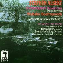 "Stephen Albert (1941-1993): Symphonie Nr.1 ""River Run"", CD"