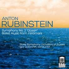 """Anton Rubinstein (1829-1894): Symphonie Nr.2 """"Ozean"""", CD"""