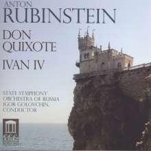 Anton Rubinstein (1829-1894): Don Quixotte op.87, CD