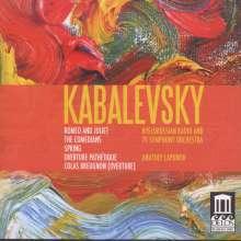 Dimitri Kabalewsky (1904-1987): Romeo & Julia-Suite op.56, CD