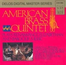 Bach / Gabrieli / Speer / Dow: American Brass Quintet, CD