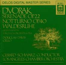 Antonin Dvorak (1841-1904): Serenade für Streicher op.22, CD
