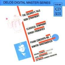 Dimitri Schostakowitsch (1906-1975): Klavierkonzert Nr.1 f.Klavier & Trompete, CD