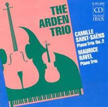 Camille Saint-Saens (1835-1921): Klaviertrio Nr.2, CD