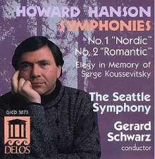 Howard Hanson (1896-1981): Symphonien Nr.1 & 2, CD