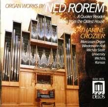 Ned Rorem (geb. 1923): Orgelwerke, CD