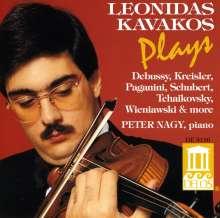 Leonidas Kavakos,Violine, CD