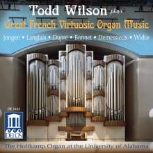 Todd Wilson - Great French Virtuosic Organ Music, CD
