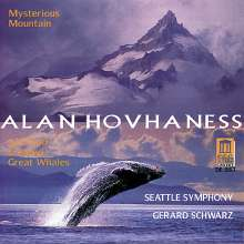 "Alan Hovhaness (1911-2000): Symphonie Nr.2 ""Mysterious Mountain"", CD"