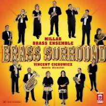 Millar Brass Ensemble - Brass Surround, CD