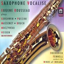 Eugene Rousseau - Saxophone Vocalise, CD