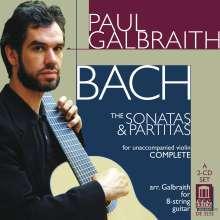 Johann Sebastian Bach (1685-1750): Sonaten & Partiten BWV 1001-1006 für Gitarre, 2 CDs