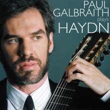 Paul Galbriath spielt Haydn arrangiert für Gitarre, CD