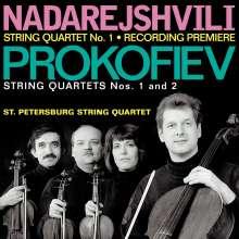 Zurab Nadarejshvili (geb. 1957): Streichquartett Nr.1, CD