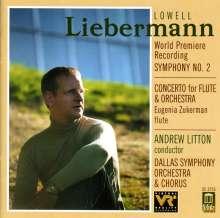 Lowell Liebermann (geb. 1961): Symphonie Nr.2, CD