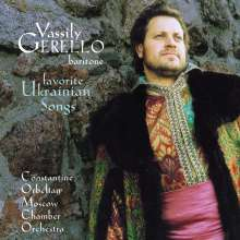 Vassily Gerello - Favorite Ukrainian Songs, CD