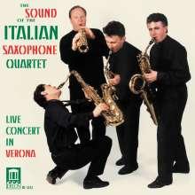 Italian Saxophone Quartet - Live Concert in Verona, CD