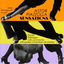 Astor Piazzolla (1921-1992): Bandoneon-Konzert, CD