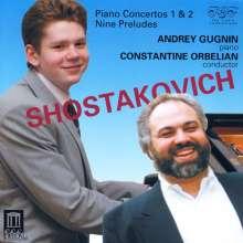 Dimitri Schostakowitsch (1906-1975): Klavierkonzerte Nr.1 & 2, CD