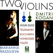Boccherini / Honegger /: Two Violins, CD