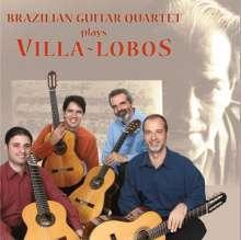 Heitor Villa-Lobos (1887-1959): Werke für Gitarrenquartett, CD