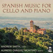 Andrew Smith - Spanish Music for Cello and Piano, CD