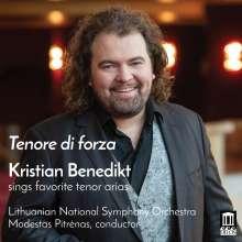 Kristian Benedikt - Tenore di forza, CD