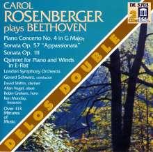 Ludwig van Beethoven (1770-1827): Klavierkonzert Nr.4, 2 CDs