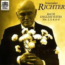 Johann Sebastian Bach (1685-1750): Englische Suiten BWV 806,808,809,811, 2 CDs