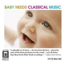 Baby needs Classical Music, 10 CDs