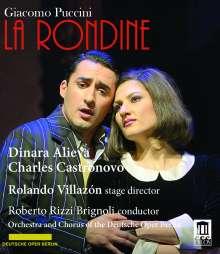 Giacomo Puccini (1858-1924): La Rondine, Blu-ray Disc