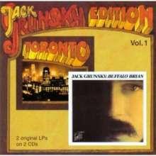Jack Grunsky: Toronto / Buffalo Brian (Vol. 1), 2 CDs