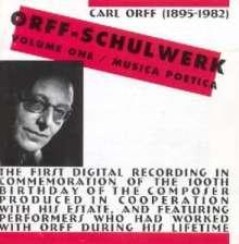 Carl Orff (1895-1982): Schulwerk Vol.1, CD