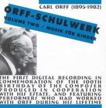 Carl Orff (1895-1982): Schulwerk Vol.2, CD