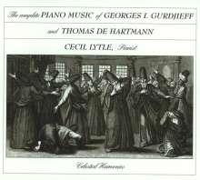 George Ivanovich Gurdjieff (1866-1949): Sämtliche Klavierwerke Vol.1-3, 6 CDs