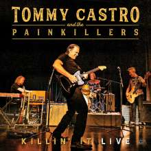 Tommy Castro: Killin' It Live (180g) (Orange Vinyl), LP