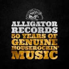 Alligator Records: 50 Years Of Genuine Houserockin', 3 CDs